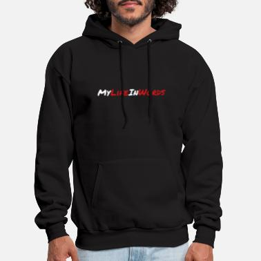 My life in words - Men's Hoodie