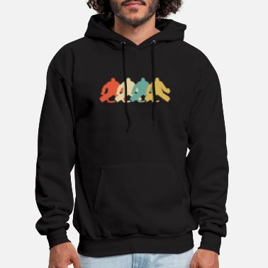 Hockey Goalie Retro Hockey Goalie Pop Art - Men's Hoodie