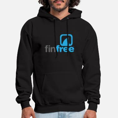 Free FinFree™_LOGO_OFFICIAL_hires.png - Men's Hoodie