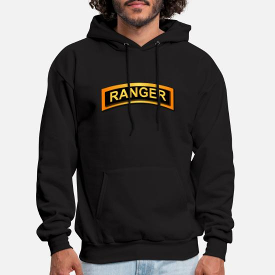 Mens Pullover Hoodie Army Special Forces Fight Mean Gear Airborne Ranger