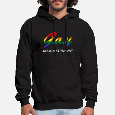 Potter Gay pride lesbian gay women Girls are yummy gay pr - Men's Hoodie