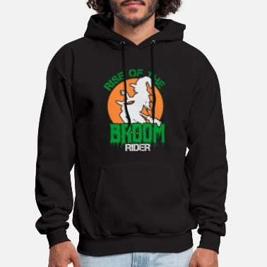 Witches Broom Halloween Witches Broom Gift - Men's Hoodie