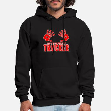 Truckers Wife BOOB TRUCKER - Men's Hoodie