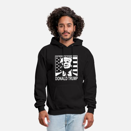 Trump Hoodies & Sweatshirts - President of the United States Youth s Donald Trum - Men's Hoodie black