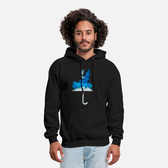 Winter Hoodies & Sweatshirts - winter - Men's Hoodie black