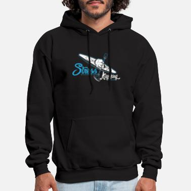 Funny Gift - Cool Stress is caused by not Kayaking - Men's Hoodie