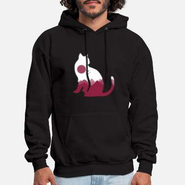 Domestic Animal cat gift paw domestic animal domestic cat - Men's Hoodie