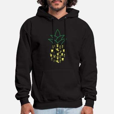Dentist Pineapple Dentistry Dental Hygienist Gift - Men's Hoodie