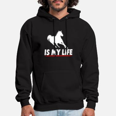 Horse Breed Horse Breeding Is My Life - Men's Hoodie