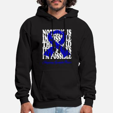 Spondylitis Ankylosing Spondylitis awareness - Men's Hoodie