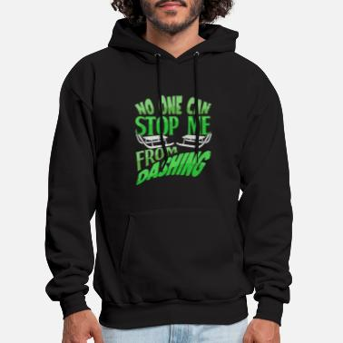 No One Can Stop Me No one can stop me from dashing Sledding Sled - Men's Hoodie