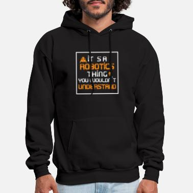 Robotic engineer - Men's Hoodie