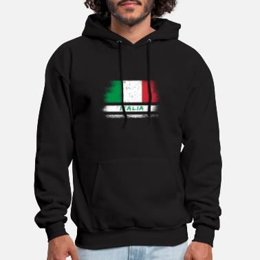 Italy hoodie Italian flag sweatshirt Men/'s hooded sweat shirt Italy flag design