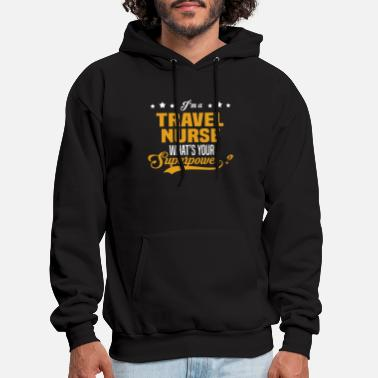Travelling Travel Nurse - Men's Hoodie
