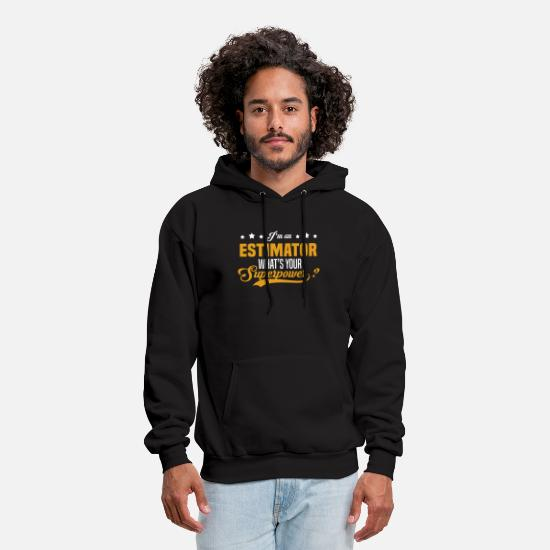 Superpower Hoodies & Sweatshirts - Estimator - Men's Hoodie black