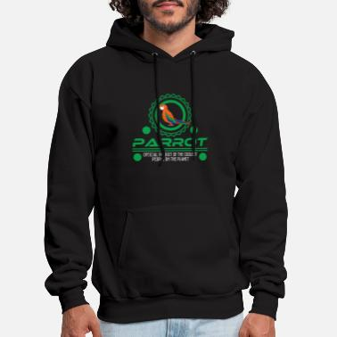 Beak Official Parrot Of The Coolest People On Earth - Men's Hoodie