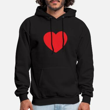 Heart Big heart - Men's Hoodie