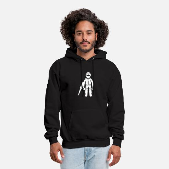 Swat Hoodies & Sweatshirts - Type Of Soldiers SWAT - Men's Hoodie black