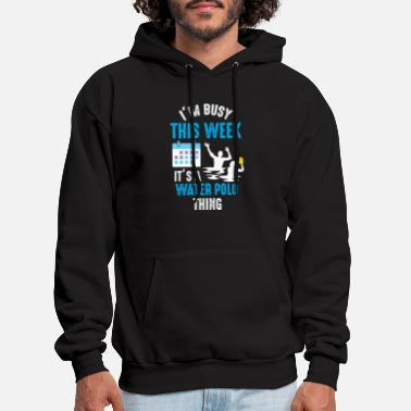 Water Sports Water Polo Player Funny Water Sport Athlete - Men's Hoodie