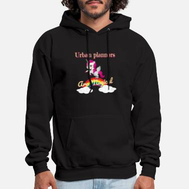 Urban Urban planners are magical - Men's Hoodie