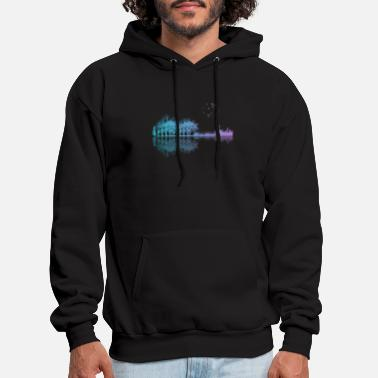 Guitar Guitar in the city - Men's Hoodie