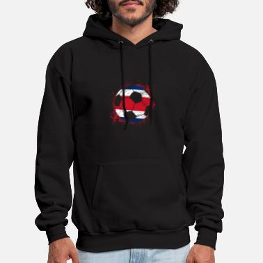 Soccer Team Costa Rica Soccer Team - Men's Hoodie