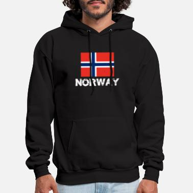 Norway Norway National Pride Norwegian Flag Design - Men's Hoodie