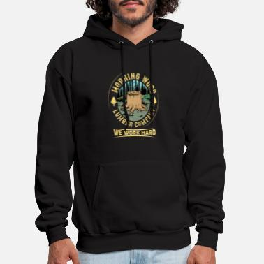 Morning Morning Wood Lumber Company - Men's Hoodie