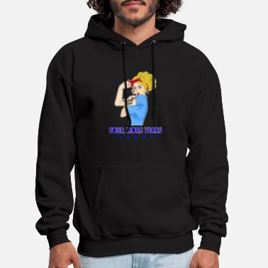 Republican Lady Four More Years Shirt Vote Donald Trump 2020 - Men's Hoodie