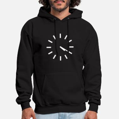 a more subtle stoner black and white shirt car - Men's Hoodie
