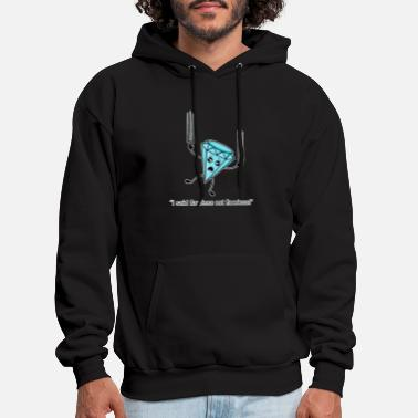 Funny Flawless Diamond Pun Kawaii Diamond Graphic - Men's Hoodie