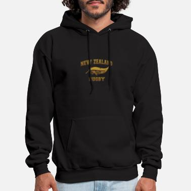 Rugby New Zealand rugby maori sunset - Men's Hoodie