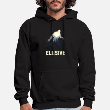 Hooded Sweatshirt Mens Custom Pullover Fleece Hoodie I Love Bigfoot