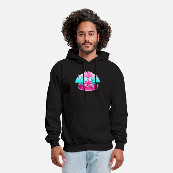 Miami Hoodies & Sweatshirts - Hotline Miami - Men's Hoodie black
