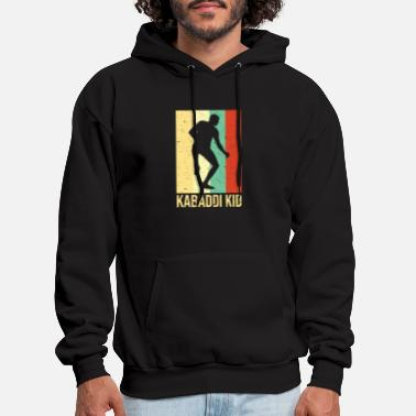 Hindi Kabaddi or Kabadi Player Indian Sports - Men's Hoodie