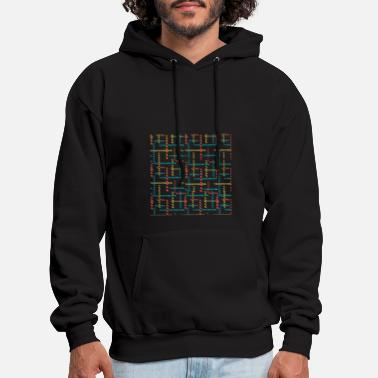 Dash Dash, Dash and Dash - Men's Hoodie