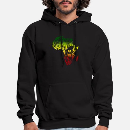 African Lion Africa Reggae Music Rasta Jamaica Men's