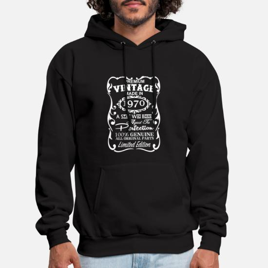 Mens Hoodie47th Birthday Gift Ideas For Men And Women Unique