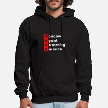 Moscow Agent Governing America MAGA Parody - Men's Hoodie