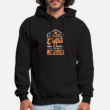 Coffee RELIGION / COFFEE: Christians and Coffee gift idea - Men's Hoodie
