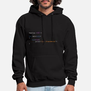 Engineer Love Programming C - Men's Hoodie