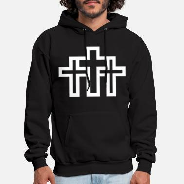 Christian Jesus cross - Christian - Men's Hoodie