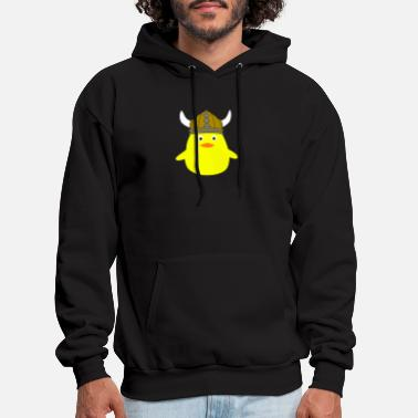 Geek viking chick - Men's Hoodie