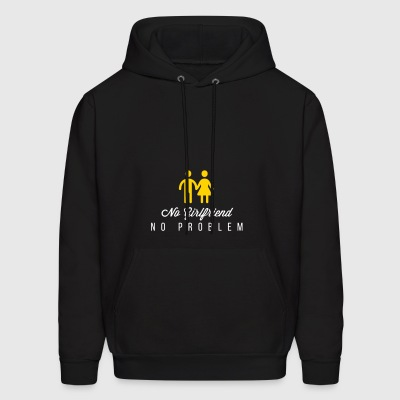 No Girlfriend. No Problem. - Men's Hoodie
