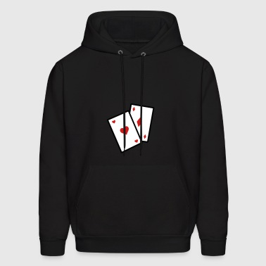 Gambling Poker Cards - Men's Hoodie
