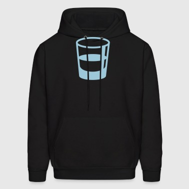 glass shot - Men's Hoodie