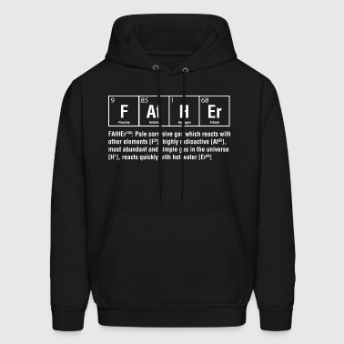 Father pale corrosive gas which reacts with other - Men's Hoodie