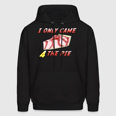 Thanksgiving Day / Christmas Holiday Cheese Cake - Men's Hoodie