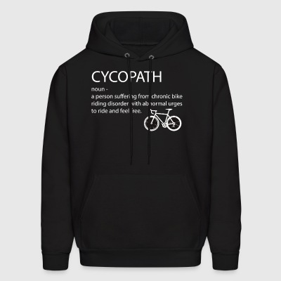 Funny bicycle cyclist - Men's Hoodie