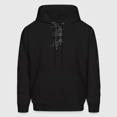 chinese_new_year_with_ornament_black - Men's Hoodie